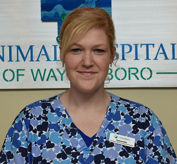 Samantha C: Veterinary Staff in Waynesboro